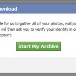How to Save a Copy of your Facebook data