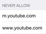 How to Restrict YouTube in iPod touch and iPad