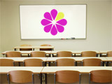 Be Web Smart logo in front of a classroom