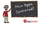 New Apps Installed! Meet the AppProfessor from AppCertain
