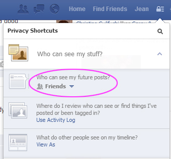 how to make mobile uploads private on facebook