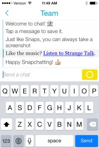 snapchat chat rooms online