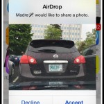 How to prevent anonymous sexting over AirDrop in iOS